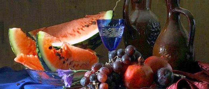 благословения на плоды