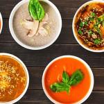 разные виды супов