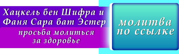 молитва за больного