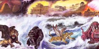 вечность связи,царство Греции,видение Навухаднэцара,видение даниэля, Разъяснение видения Даниэля,смысл четырех царств